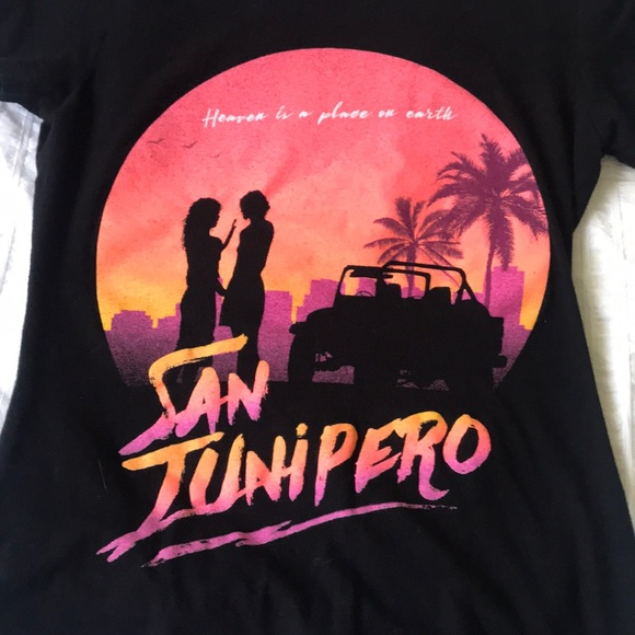 Black Mirror San Junipero Shirt